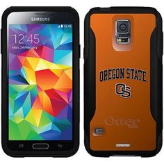 OS On Orange Design on OtterBox Commuter Series Case for Samsung Galaxy S5