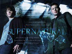 Jared Padalecki & Jensen Ackles  Our Supernatural boys by ~Nadin7Angel on deviantART