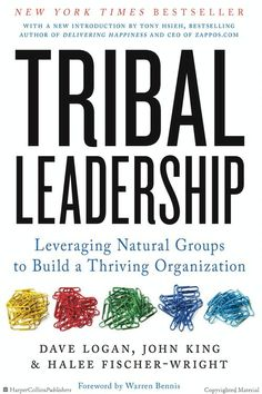 """""""Tribal Leadership gives amazingly insightful perspective on how people interact and succeed. I learned about myself and learned lessons I will carry..."""
