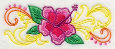 Machine Embroidery Designs at Embroidery Library! - Color Change - H6174