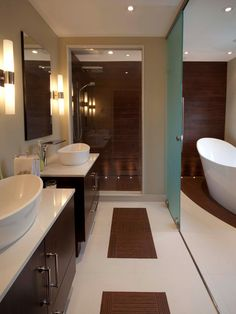 Get inspiration and bathroom design ideas from these stunning, professionally designed baths from NKBA 2013 finalists.