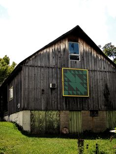 Old Indian Trail Block Quilt Barn belongs to All things structural