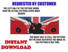 Beading Pattern Peyote Pattern Tutorial  by BeadingPatterns2013, £1.85