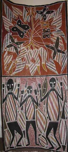 Arnhem Land Bark Painting
