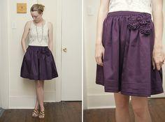 Cute DIY skirt!