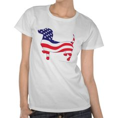 Shop Dachshund in the American Flag T-Shirt created by knudsonstudios. Mickey Mouse T Shirt, Dachshund Gifts, Flag Shirt, Wardrobe Staples, American Flag, Fitness Models, Casual, Mens Tops, Dachshunds