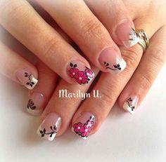 ☺ Nails & Co, Pink Nails, Hair And Nails, My Nails, Nail Picking, Fancy Hands, French Nails, Summer Nails, Pedicure