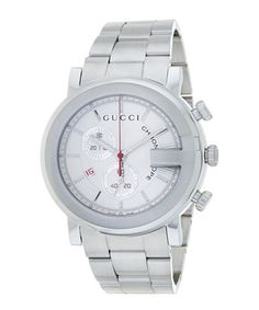 Mens Custom Diamond Gucci 101 G Watch White Dial Chronograph 15 CT for sale online Gucci Men, Gucci Gucci, Stainless Steel Case, Chronograph, Watches For Men, Quartz, Unisex, Accessories, Husband