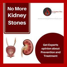 Dr. Pradeep Rao provides best kidney stone treatments in Mumbai.