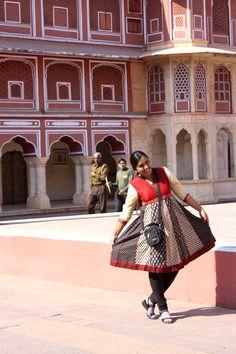 Inside the City Palace. Jaipur, Rajasthan, India. (January 2012).