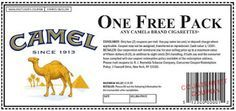 Get your Off Camel Cigarettes Coupons September in to Get your Free Camels Cigarette Coupons, Camel Cigarettes Coupons By Mail, Free Camel Cigarettes Coupons . Cigarette Coupons Free Printable, Free Printable Coupons, Print Coupons, Free Printables, Free Coupons Online, Free Coupons By Mail, Digital Coupons, American Spirit Cigarettes, Marlboro Coupons