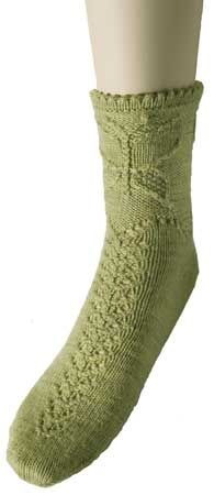 View more images from Butterfly Garden Sock Pattern : only at Knitpicks.com