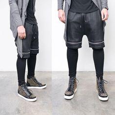41 vind-ik-leuks, 1 reacties - Sneakers & Streetwear Shop (@sneakerjeans) op Instagram: '@malikaras66 Online Featured: Coated Herringbone Built in Leggings Shorts Jogger Pants (Search 269)…'