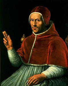 Adrianus VI (geb. Adriaan Floriszoon Boeyens)(1459-1523) - by Jan van Scorel, 1523. Adrianus VI was paus van aug. 1522 tot zijn dood. Hij was de laatste niet-Italiaanse paus tot Johannes Paulus II in 1978. In Nederland wordt hij vanwege zijn geboorteplaats Utrecht beschouwd als de enige Nederlandse paus in de geschiedenis.