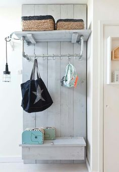 Mudroom bench with shoe storage ideas for lovely diy hallway bench with storage types diy entryway bench Overhead Garage Storage, Bench With Shoe Storage, Hallway Bench, Rack Design, Design Art, Room Dimensions, Living Room Colors, Mudroom, Interior Design Living Room