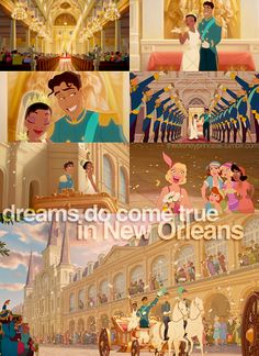 Princess & the Frog. Dreams Do Come True in New Orleans