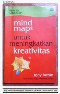 Mind Map untuk Meningkatkan Kreativitas | Tony Buzan | IDR 2500 per week  MINAT? PM :D