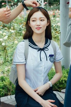 Shared by L I N. Find images and videos about cute, beautiful and pretty on We Heart It - the app to get lost in what you love. Korean Star, Korean Girl, Asian Girl, Korean Actresses, Korean Actors, Lee Sung Kyung Doctors, Lee Sung Kyung Wallpaper, Kim Sohyun, Weightlifting Fairy Kim Bok Joo