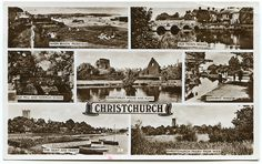 Christchurch, Dorset (formerly in Hampshire)