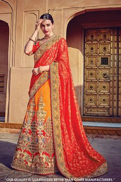 Shop Bridal Lehenga From Mirraw.