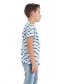 Camiseta Pepe jeans Dirk Blanca Que vuestros peques tengan estilo con nuestras camisetas Pepe Jeans #camiseta #moda #niño