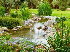 DIY: Ein Bach im eigenen Garten #News #Pool_und_Teich