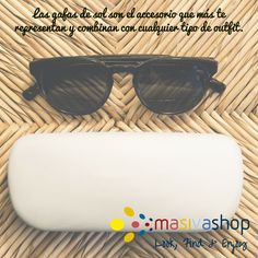 Llévalas siempre contigo y aprovecha la gran variedad de modelos que existen para adaptarlas a tu rostro y estilo.  #Fashion #Accessories #SunGlasses #FashionSunGlasses #WomensFashion #WomensAccessories #WomensSunglasses