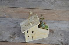 Big Tealight holder and planter House MADE TO ORDER by lofficina
