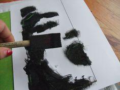 Create Something Saturday's- DIY Stencil Art Stencil Diy, Stencils, Create Your Own, Art Pieces, Collage, Soy Milk, Blog, Crafts, Craft Ideas
