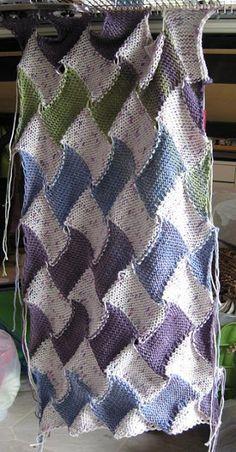 Machine Knitting Fun: technique