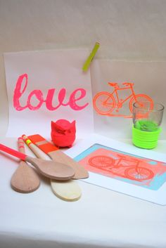 """.: Screen Printing Party """"Neon Fix 2012"""""""