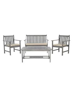 Burbank Outdoor Set (4 PC) from Up to 70% Off: Outdoor Sets on Gilt