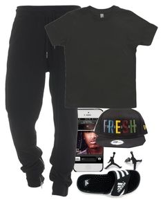 """""""Untitled #140"""" by polyvoreitems5 ❤ liked on Polyvore featuring True Religion and adidas"""