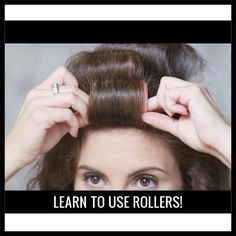 Stylists love using rollers to up volume & create long-lasting curls. Time to take advantage of them! Technique Week How-To #2: How to Use Rollers! Check it out here: http://www.tresstylestudio.com/videos/rollers-tips
