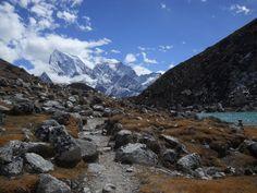 Ngozumpa glacier valley  Gokyo, Nepal