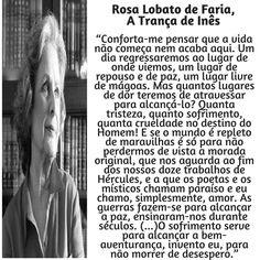 Rosa Lobato de Faria   Poema: A trança da Inês