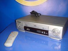 reproductor VHS Samsung modelo SV-431XV buen estado