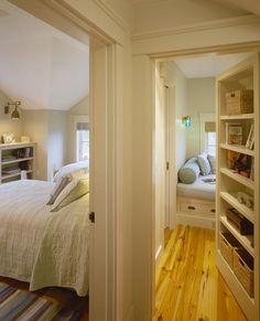 Sunny reading room hidden behind a bookshelf: | 31 Beautiful Hidden Rooms And SecretPassages...These are soooooo cool!!!