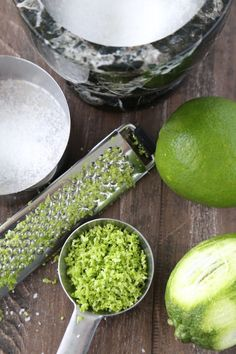 How to make a lime salt recipe!