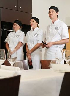 Dear Paula, Kelly and Aaron. Corporate Team Building, Chef Jackets