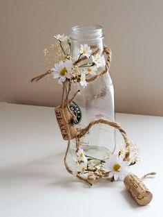 Rustic Wedding table decorations daisy Centerpieces от AmoreBride