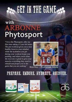 Arbonne Phytosport - Get in the Game! http://deborahfischetti.arbonne.com