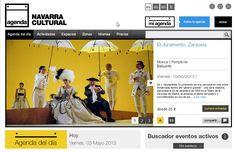 Toda la Agenda Cultural de Navarra. Nafarroako kultura-agenda osoa.  www.navarracultural.com