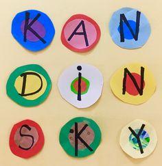Kandinsky Art activities for Kids! Grades 1-3.
