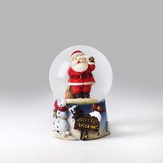 Santa's Sack Mini Snow Globe Snow Globe Kit, Diy Snow Globe, Snow Globes, Santa Sack, Cool Stuff, Mini, Decor, Snowball, Musicals