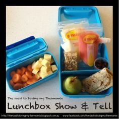 Lunchbox Show and Tell 26.2.2014