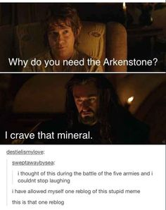 """But it's not like Thorin could really help it. 21 Pictures Only """"The Hobbit"""" Fans Will Think Are Funny O Hobbit, Hobbit Humor, Hobbit Funny, Bagginshield, J. R. R. Tolkien, Legolas, Kili, Gandalf, My Tumblr"""