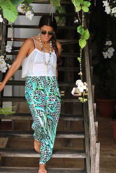 Jasmine Pants in the Dominican Republic - VeryAllegra