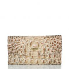 Brahmin Prosecco checkbook wallet