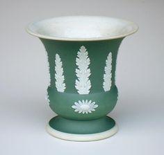 Wedgwood Jasperware - urn - my husband's grandmother's